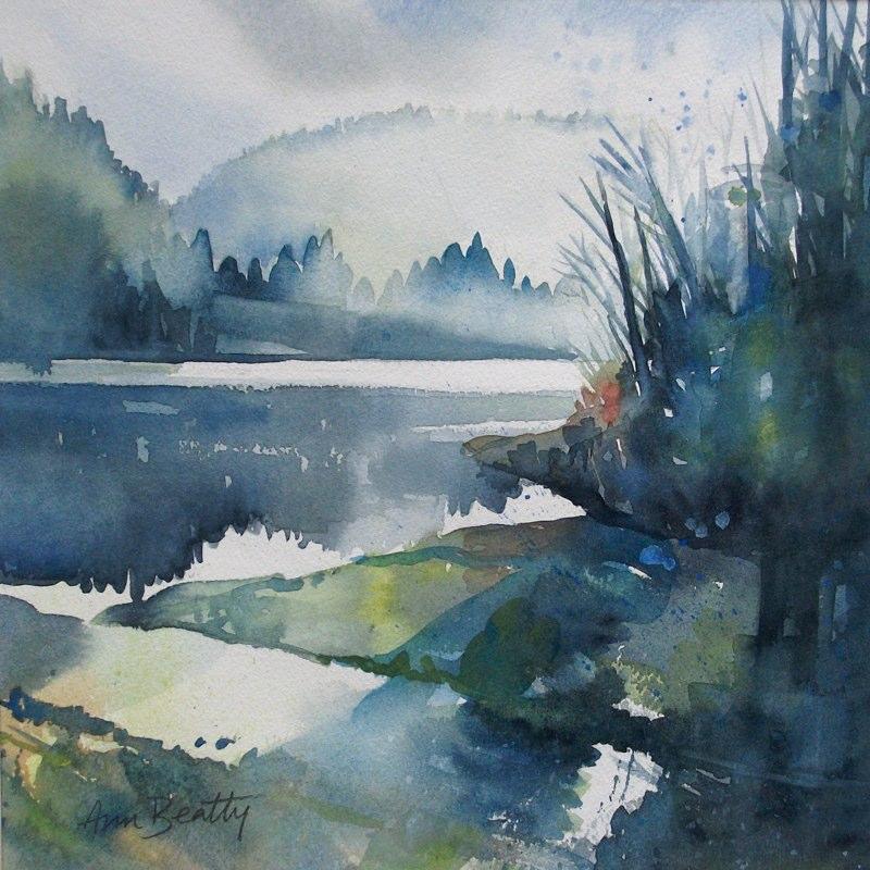 Morning on Killarney Lake