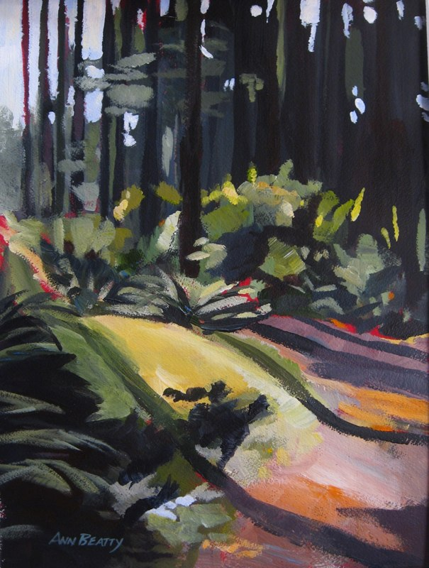 Light from the Forest, Bowen Island